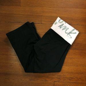 NWOT Victoria's Secret Cropped Yoga Pants